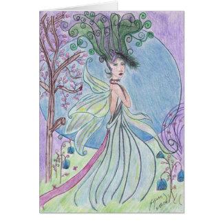 engle fairie card