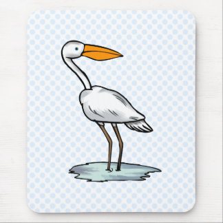 Englewood Egret Mouse Pad
