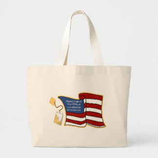 Englich Large Tote Bag