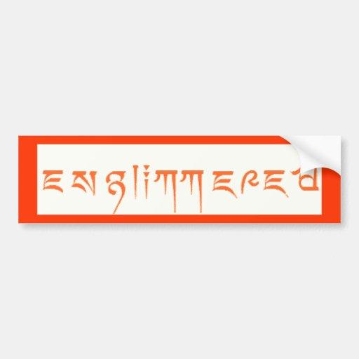 Englimmered Bumper Sticker