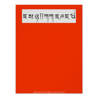 Englimmered Poster