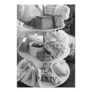 English Afternoon Tea Invitation