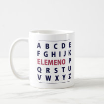 English Alphapbet ELEMENO Song Coffee Mug