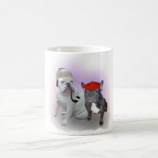 English and French bulldogs Classic White Coffee Mug