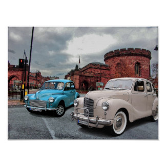 English Autos Poster