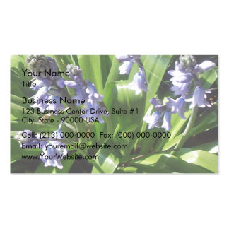 English bluebells Double-Sided standard business cards (Pack of 100)