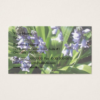 English bluebells business card