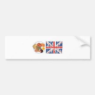 English Breakfast Bumper Sticker