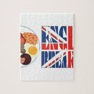 English Breakfast Jigsaw Puzzle