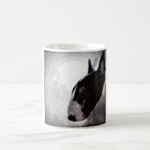 English Bull Terrier arty urban design MUG