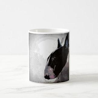 English Bull Terrier arty urban design MUG