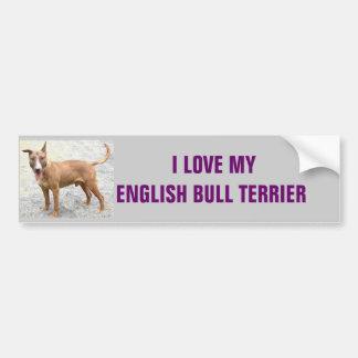 English Bull Terrier Bumper Sticker