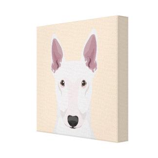 English Bull Terrier Canvas Print