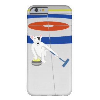 English Bull Terrier Curling Barely There iPhone 6 Case