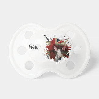English Bull Terrier 'Custom Name' Pacifier