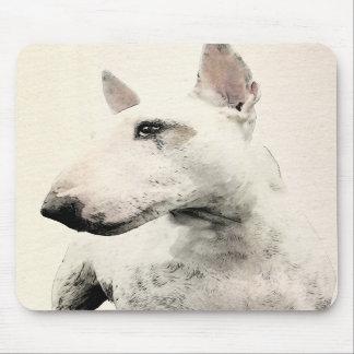 English Bull Terrier Dog Mousemats