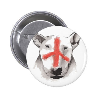 English Bull Terrier England Pinback Button