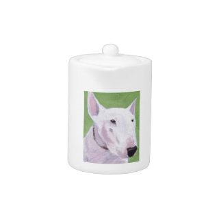 English Bull Terrier Teapot at Zazzle