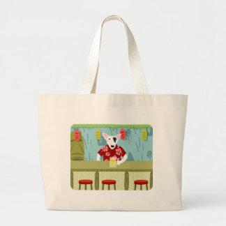 English Bull Terrier Tiki Bar Bags