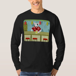 English Bull Terrier Tiki Bar T-Shirt