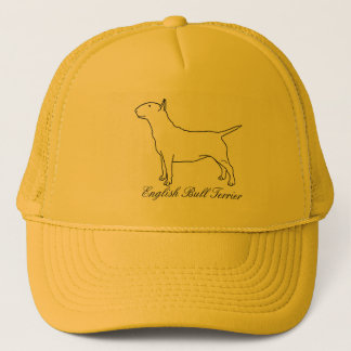 English Bull Terrier Truckers Hat