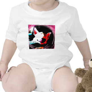 english bull terrier baby bodysuits