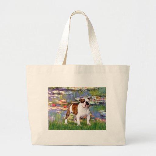 English Bulldog 5 - Lilies Bag