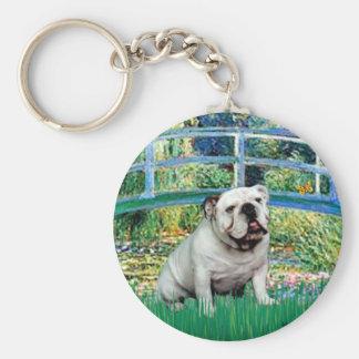 English Bulldog 9 - Bridge Keychain