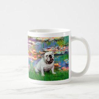 English Bulldog 9 - Lilies 2 Mugs