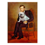 English Bulldog 9 - Lincoln Poster