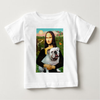 English Bulldog 9 - Mona Lisa Baby T-Shirt