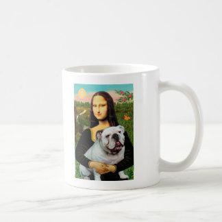 English Bulldog 9 - Mona Lisa Coffee Mugs