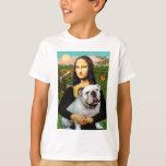 English Bulldog 9 - Mona Lisa T-Shirt
