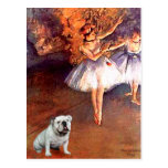 English Bulldog 9 - Two Dancers Post Cards