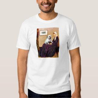 English Bulldog 9 - Whistler's Mother T Shirt
