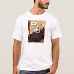 English Bulldog 9 - Whistler's Mother T-Shirt
