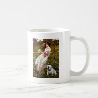 English Bulldog 9 - Windflowers Coffee Mugs
