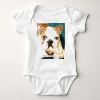 """English Bulldog """"Adagio"""" Baby Bodysuit"""