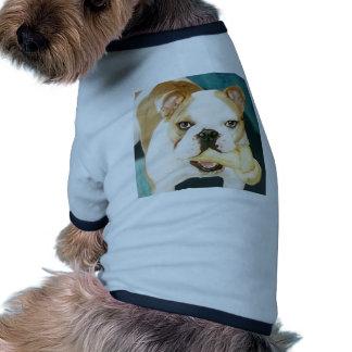 """English Bulldog """"Adagio"""" Dog Shirt"""