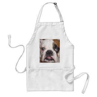 english bulldog aprons