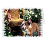 English Bulldog Art Gifts Cards