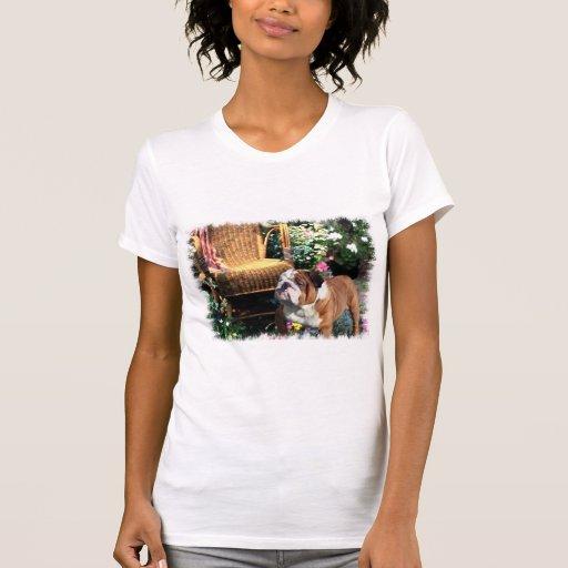 English Bulldog Art Gifts Shirts
