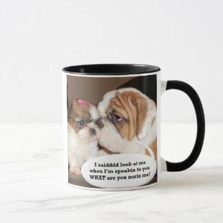 English Bulldog Attention! Mug