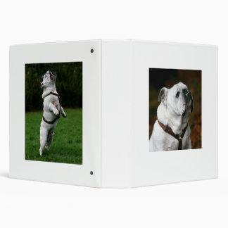 English Bulldog Avery Binder
