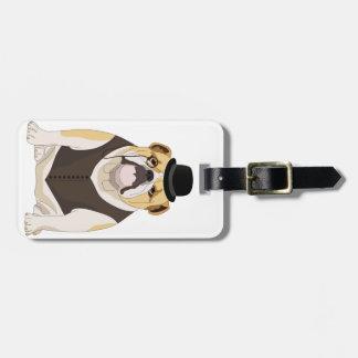 English Bulldog Bag Tag