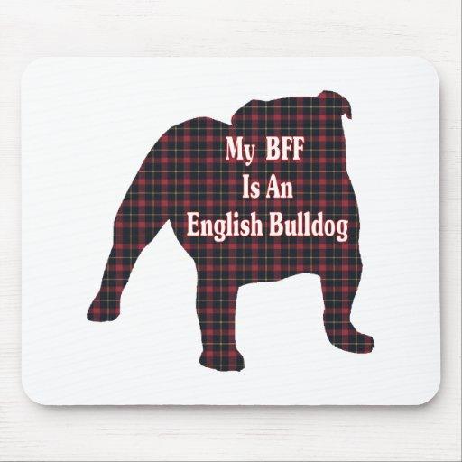 English Bulldog BFF Mouse Pad