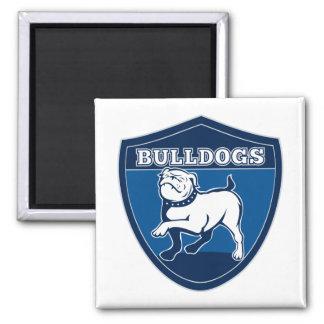 English bulldog british rugby sports team mascot fridge magnets