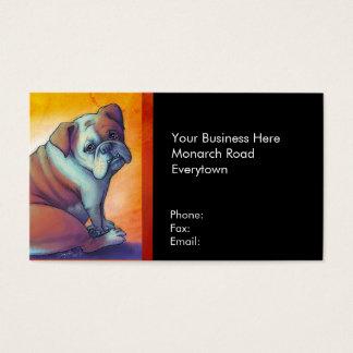 English Bulldog Business Card