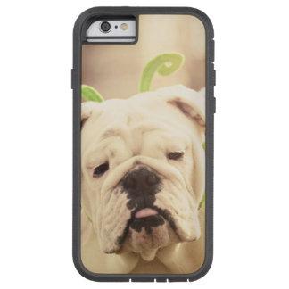 English Bulldog Butterfly Photo iPhone Tough Case
