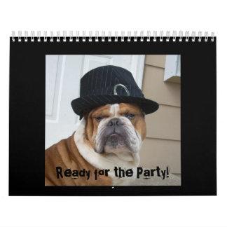 English Bulldog Calendar 2010